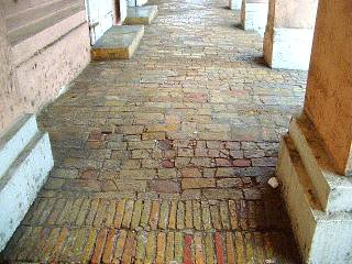 Christiansted brick sidewalk