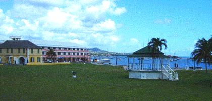 Christiansted historic site harborview