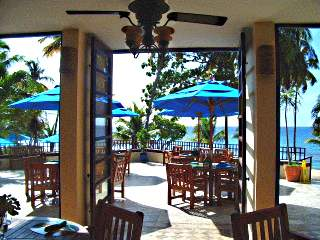 virgin island resort carambola cafe view sea